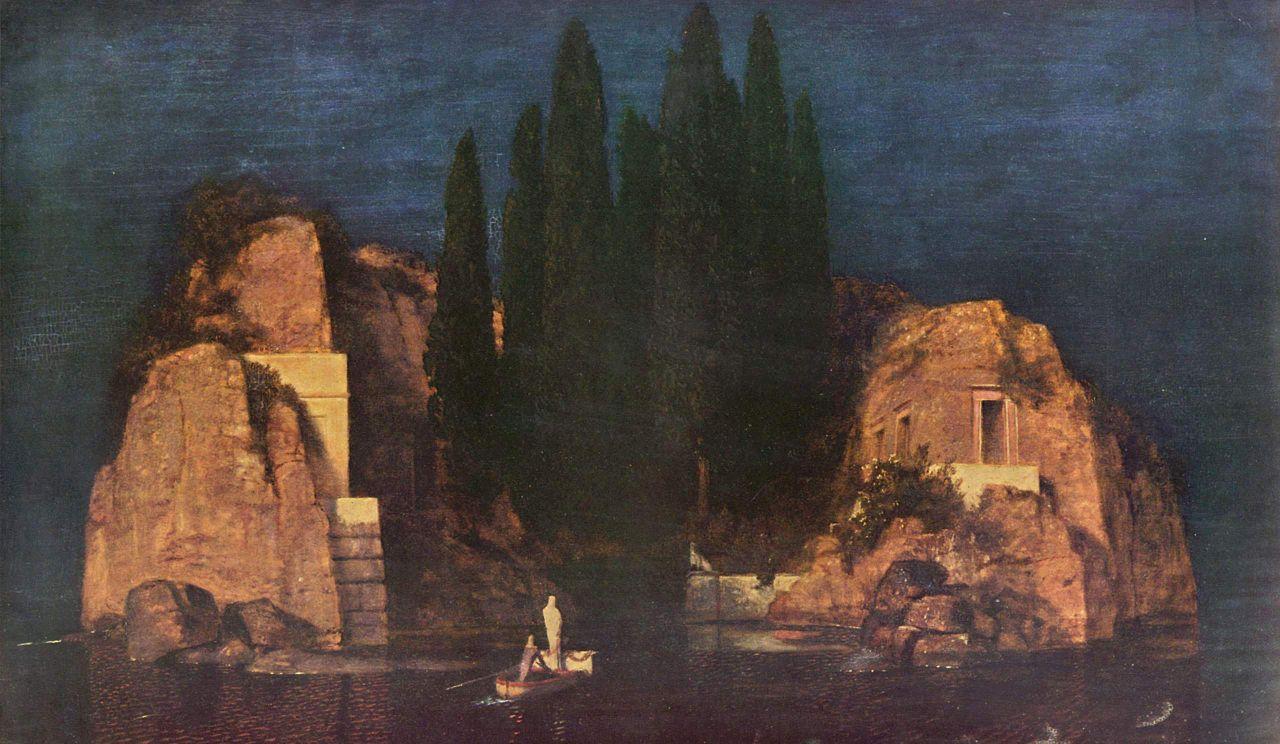 'La isla de los muertos', una puerta abierta al misterio